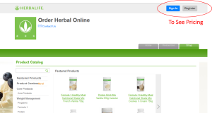 Herbalife Pricing