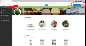 Herbalife Online Shopping